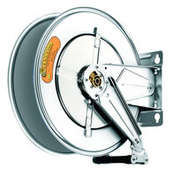 Open hose reel bodies, stainless steel