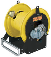 Open hose reels - motorized