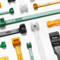 Cable ties and labels